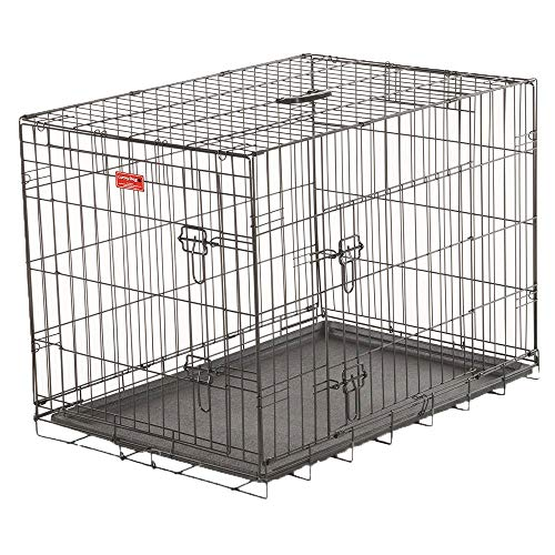 Cheap Lucky Dog 2 Door Dog Kennel (36-inch)