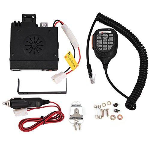 Zerone Mini Auto Car Mobile FM Radio VHF/UHF Dual-Band Vehicle Transceiver Walkie Talkie by Zerone