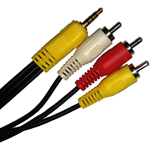 A/v Cable Model (Roku composite cable (red/white/yellow) for Roku LT, and Roku 2 (XS HD, XD) models)