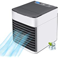 JIAMO Personal Space Air Cooler, Upgraded 3-in-1 Portable Arctic Mini Air Conditioner, Humidifier & Purifier with 3 Gear…
