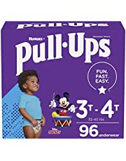 Boys Potty Training Underwear, Easy Open Training Pants 3T-4T Pull-Ups Learning Designs for Toddlers 96ct 1 Month Supply