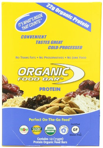Best tasting vegan protein bar brands with high protein for Organic food bar