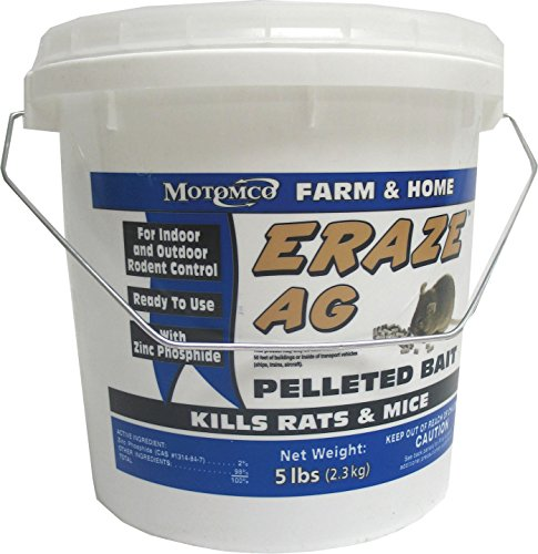 (Motomco Eraze Mouse and Rat AG Rodent Pellets,)