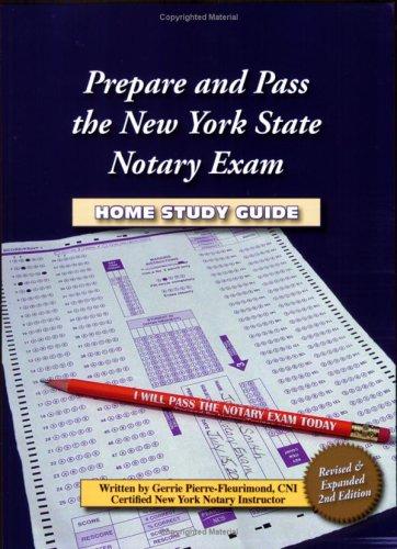 Prepare & Pass the New York State Notary Exam