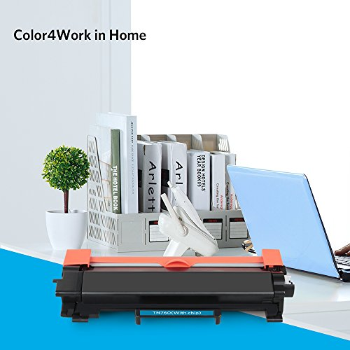 Color4work Compatible Brother High Yield  Toner Cartridge TN760 TN-760 Black, 1-Pack, use with DR730 Drum Unit for HL-L2350DW DCP-L2550DW MFC-L2710DW MFC-L2750DW HL-L2395DW HL-L2390DW HL-L2370DW Photo #7