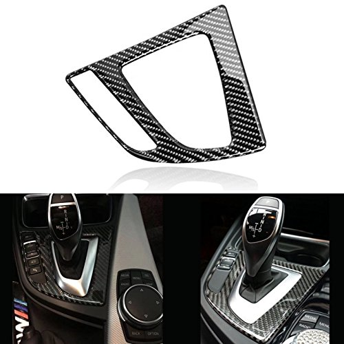 Xotic Tech 1X FULL SET INTERIOR TRIM COVER STICKERS REAL CARBON FIBER FOR BMW 3 4 SERIES by Xotic Tech (Image #3)