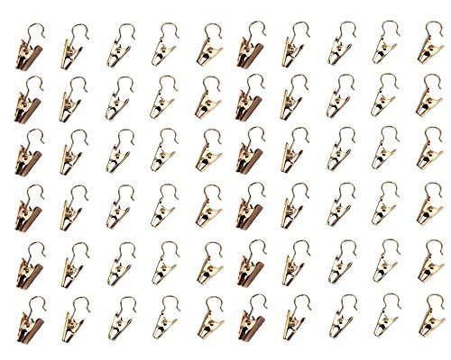 yueton 60pcs Hanging Curtain Hanger