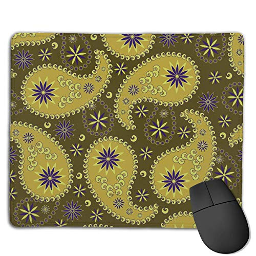 Paisley Indian Cucumber High Speed Surface Desk Pad Gaming Mousepad -