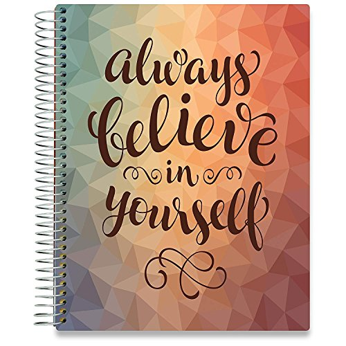 Tools4Wisdom Planners 2018-2019 Daily Planner - 8.5 x 11 Hardcover - Dated July 2018 to June 2019 Academic Year Calendar - Plan for a Happy Life Filled with Passion by Setting Weekly and Monthly Goals