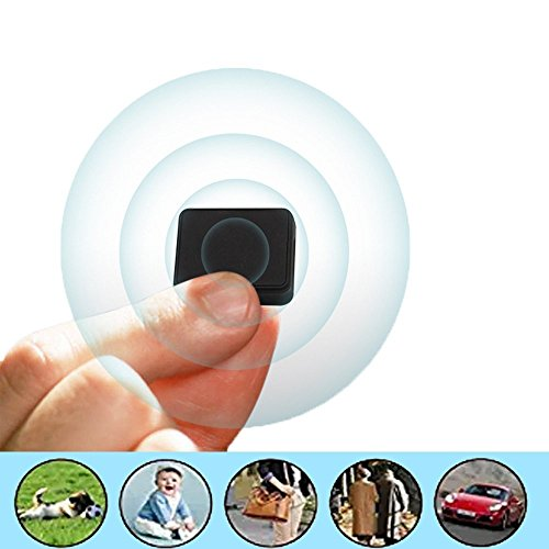 Smart GPS Tracker Spy Mini Portable Real Time tracking device Wireless GPRS SIM Locator For Vehicle Car Children (SIM card not included)