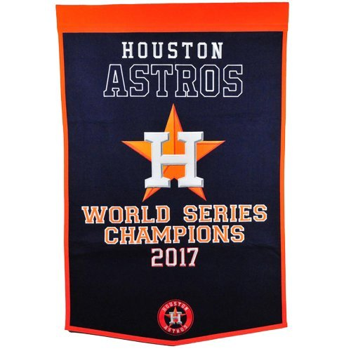Houston Astros World Series Championship Dynasty Banner - with hanging rod ()