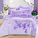 DHWM-The spring and summer ice silk double sided pure tin wire 4 piece set, bed a bed linen, wedding bedding ,1.5m