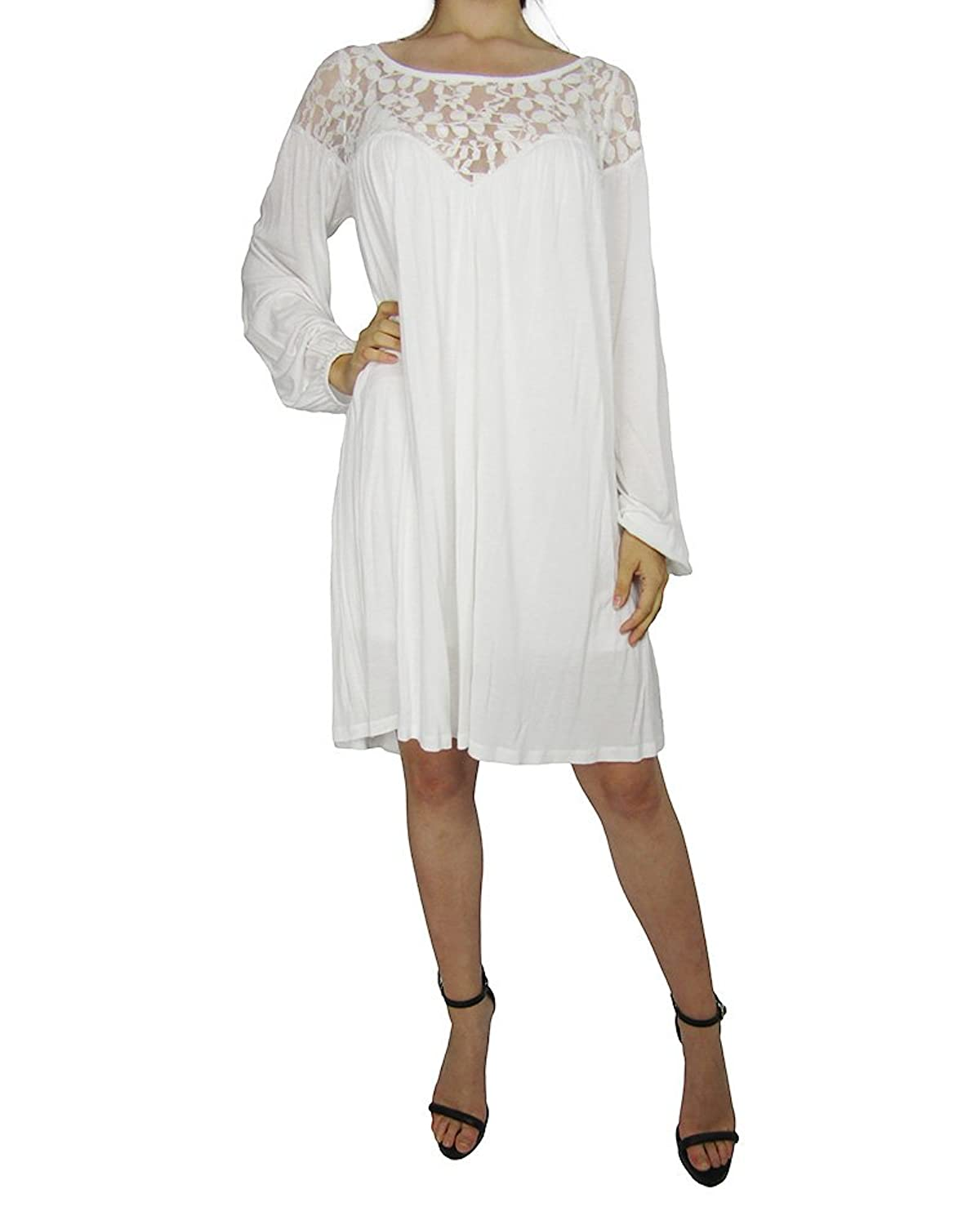 Alice By Temperley, White Lace Dress Incredibly Soft Angelic Lace slip on dress for Women, Size UK8/US4
