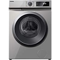 Toshiba 7 Kg 1200 RPM 16 Programs Front Load Washing Machine, Silver - TW-H80S2A(SK) - 1 Year Manufacturer Warranty