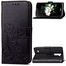 LG K7 Case Flip Case Leather Wallet Phone Cove Shell 5.0inch