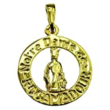 Souvenirs of France - The Virgin with Child Medal of Rocamadour - Material: 18-Carat Solid Gold