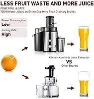 Kitchen Komforts - Licuadora profesional de frutas y verduras ...