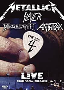 Metallica / Slayer / Megadeth / Anthrax: The Big Four - Live From Sofia Bulgaria