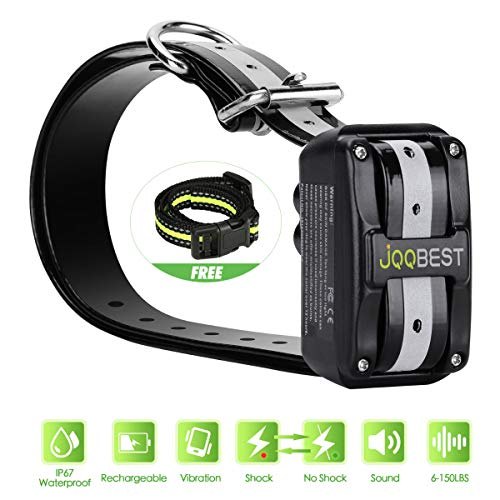 - Bark Collar [ Newest 2019 Version ] Rechargeable Shock Training Collar with IP67 Waterproof and Smart Detection Module w/Triple Anti Barking Modes: Beep/Vibration/Shock for Small/Medium/Large dog