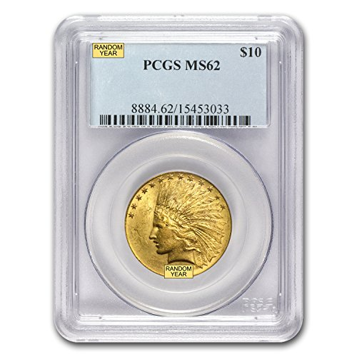 1907 – 1933 $10 Indian Gold Eagle MS-62 PCGS G$10 MS-62 PCGS
