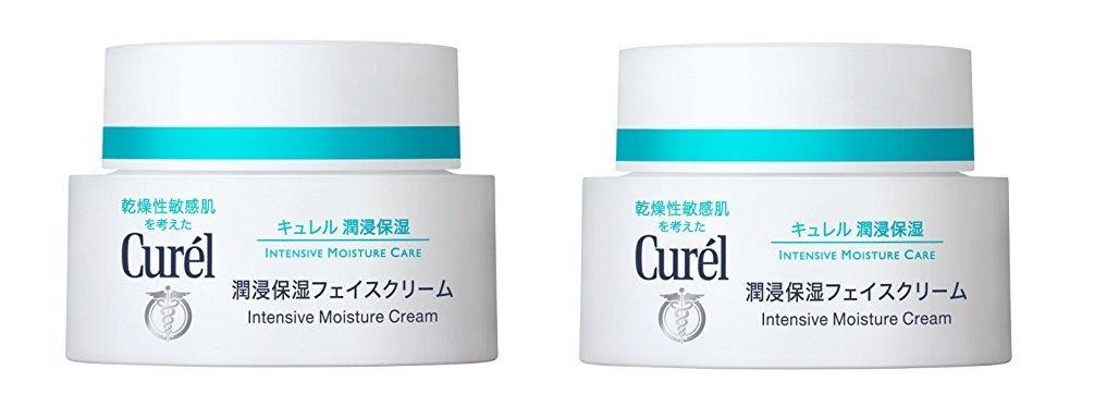 Curel Junhita moisturizing face cream 40g ( set of 2 )