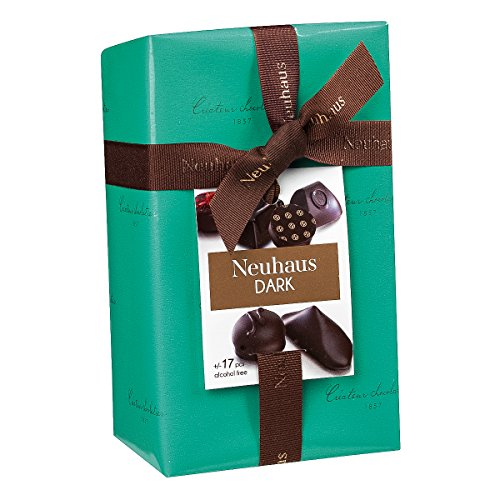 Luxury Chocolate Truffles - Neuhaus Chocolate All Dark Ballotin 1/2 lb