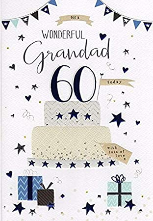 Special Grandad 60th Birthday Card Amazon Co Uk Office Products