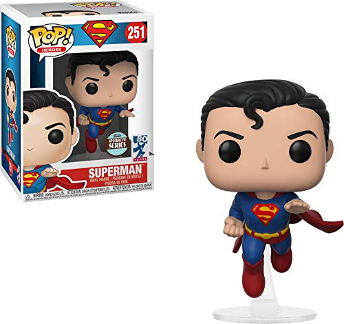 DC Comics Superman Specialty Series Pop! Heroes Vinyl Fig
