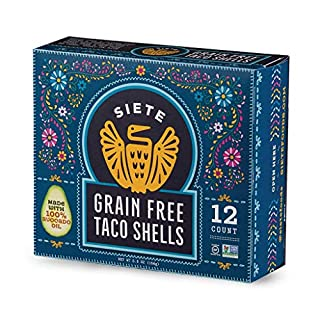 Siete Grain Free Taco Shells, 4-Pack, 48 Taco Shells