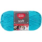 Coats: Yarn Red Heart E728.2515 Soft Yarn, Turquoise
