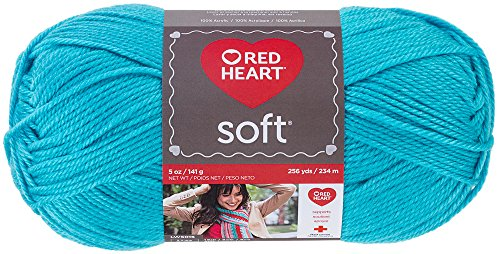 Price comparison product image Red Heart  Soft Yarn, Turquoise