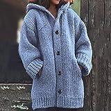 PLENTOP💗 Orange Cardigan Sweaters for Women