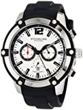 Stuhrling Original Men's 268.332D62 Sportsmans Victory Chronograph Date Silver Watch with Tachymeter