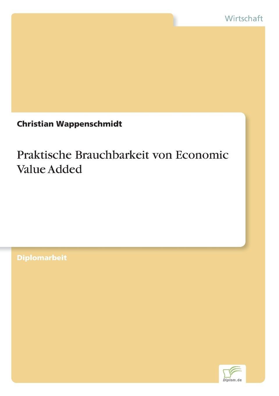 Download Praktische Brauchbarkeit von Economic Value Added (German Edition) PDF