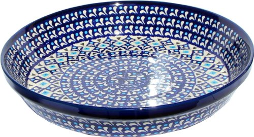 Polish Pottery Dish Pie Plate 10
