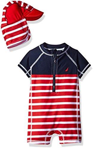 Nautica Short Sleeve Bodysuit Center product image