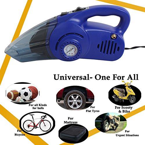 Oshotto (Technology from Taiwan) 100W Heavy Duty Car Vacuum Cleaner Cum 120W Heavy Duty Air...