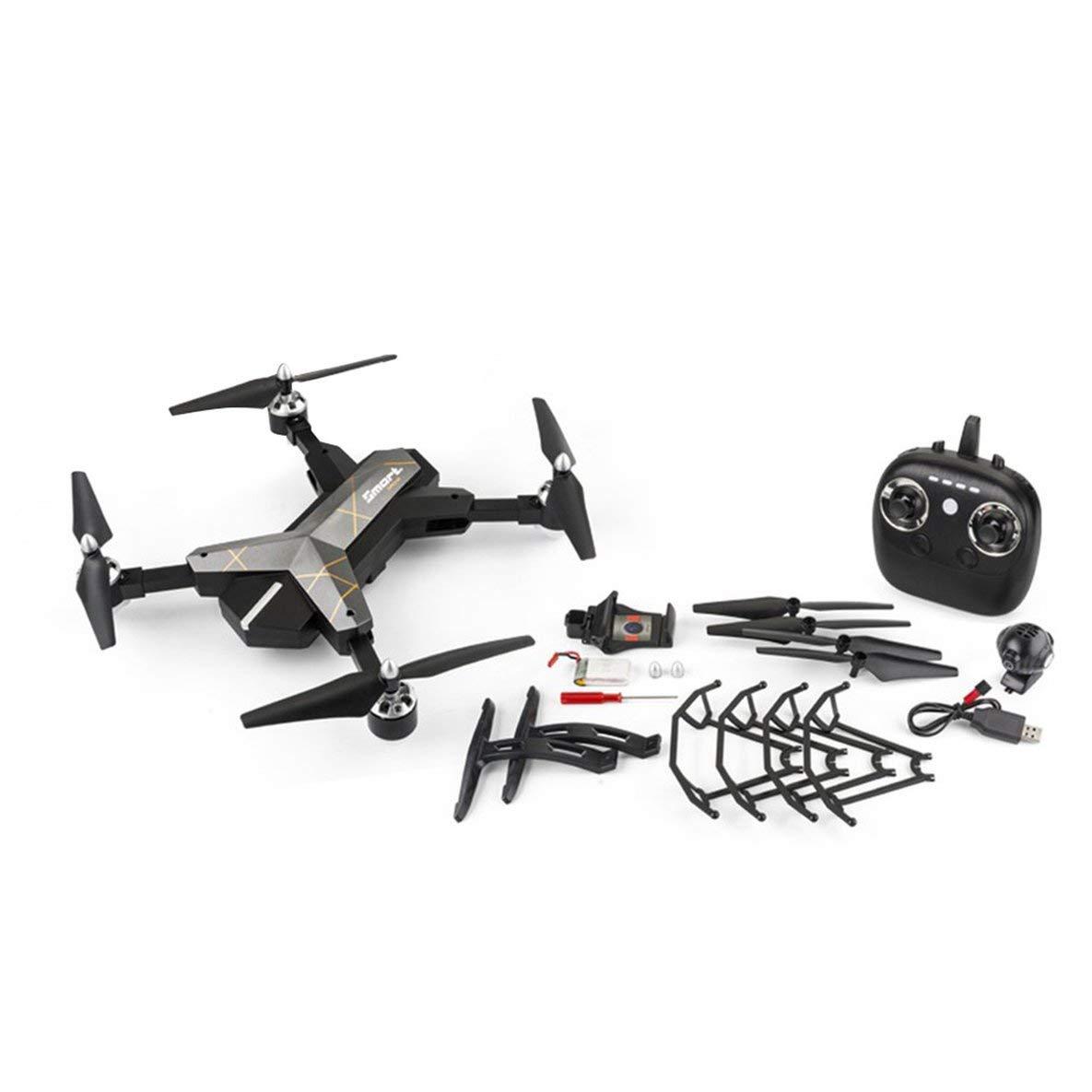 Moliies X38-1 720P Transmisión WiFi deformada en Tiempo Real FPV con Modo sin Cabeza Control de altitud RC Quadcopter RC