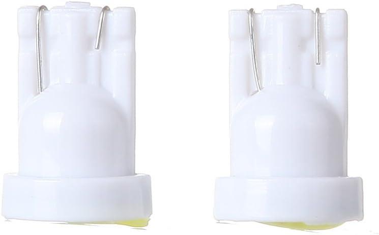 ECCPP T10 Light Bulbs 194 168 Dash Light Bulbs Instrument Panel Gauge Cluster Light,10Pcs White