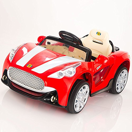 Power Wheels Cars Bentley: Maserati Style 12V Kids Ride On Car Electric Power Wheels
