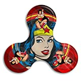 BROOKE LEWIS Fidget Spinner Wonder Woman Tri-Spinner High Speed Hand Toy For Kids Adults Perfect For Giving Up Smoking Killing Time Autism OCD
