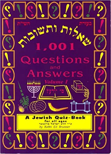 1, 001 Questions & Answers - A Jewish Quiz Book (Volume 1