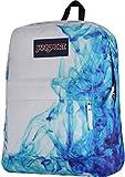JanSport Backpack Superbreak - MULTI BLUE DRIP DYE BACKPACK Deal (Small Image)