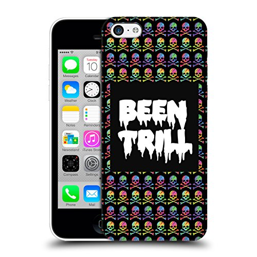 Official Been Trill Skull & Crossbone Patterns Colourful Prints Hard Back Case for Apple iPhone 5c