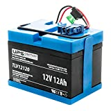 UPSBatteryCenter Compatible Replacement for Peg Perego 12V John Deere Gator Battery