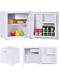 NYC STORES 1.8 Cu. Ft. Compact Single Reversible Door Mini Refrigerator and Freezer Office