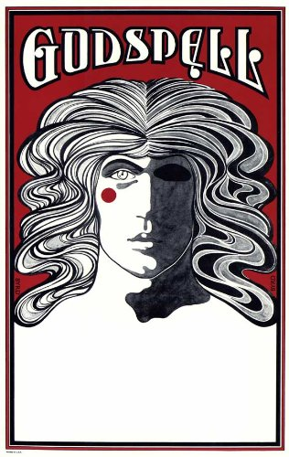 Godspell Broadway Poster - Style A