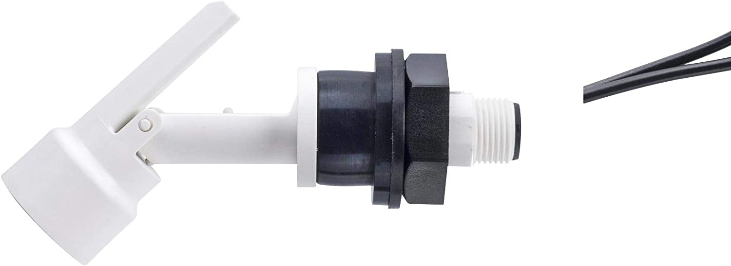 Polypropylene M12 Connector LLF78YNP Horizontal Pack of 2 LLF78YNP External Fitting 25 VA LLF70 Series Float Switch