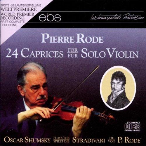 24 Caprices for Solo Violin ()