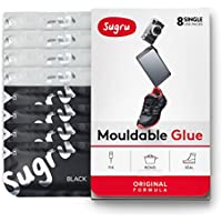 8-Pack Sugru SBW8 Moldable Glue (Black & White)